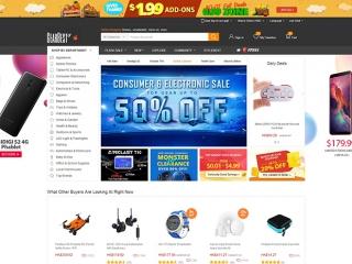 外贸购物网站