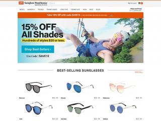 眼镜网站模板