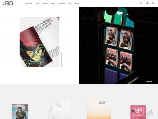 鞋服网站模板