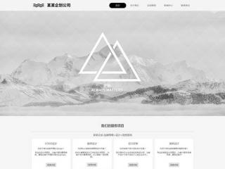 企划公司网站模板