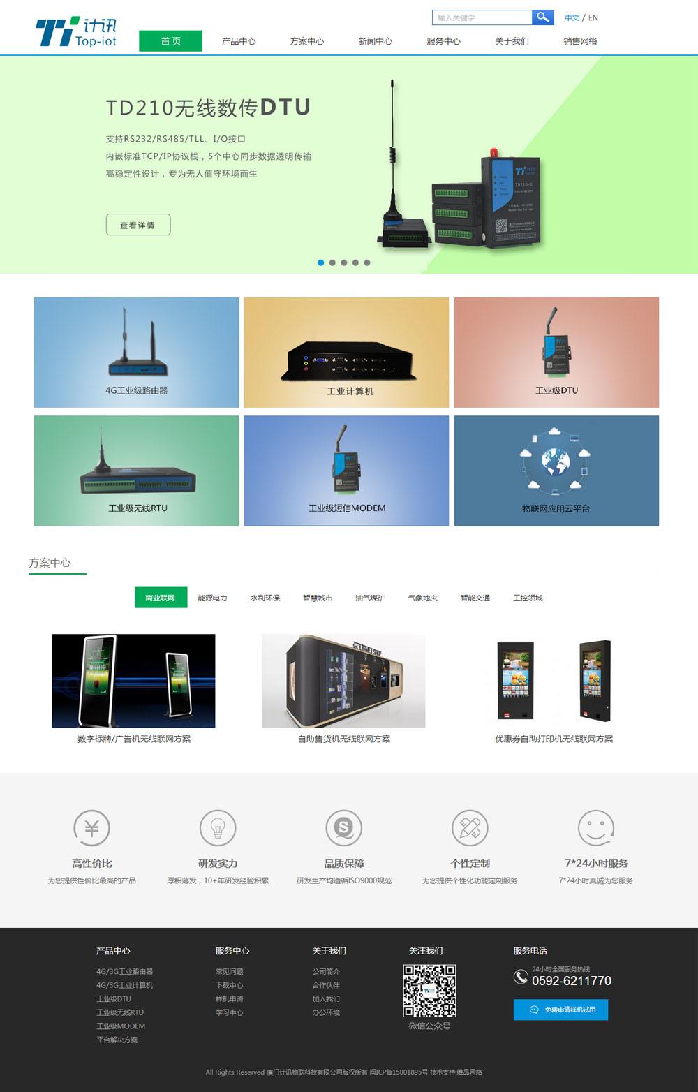 企业网站改版