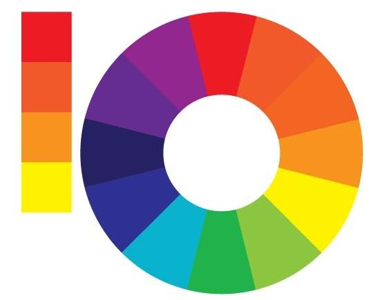 手机APP界面设计规范之标准色彩规范