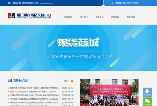 两岸商品交易中心网站建设