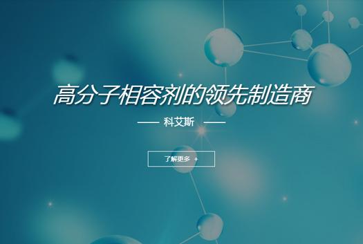 科艾斯塑胶科技公司网站建设